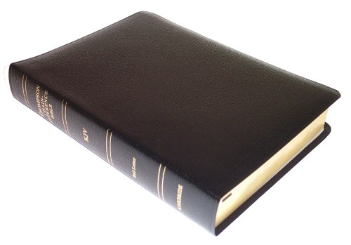 9780887073298: KJV - Black Bonded Leather - Regular Size - Thompson Chain Reference Bible (015090)
