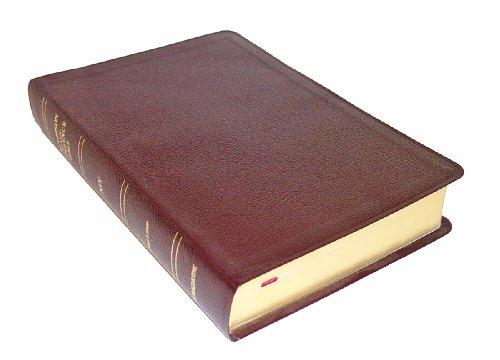 9780887073328: Thompson Chain Reference Bible (Style 809burgundy) - Regular Size NIV