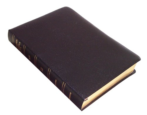 9780887073458: KJV - Black Bonded Leather - Large Print - Thompson Chain Reference Bible (015190)