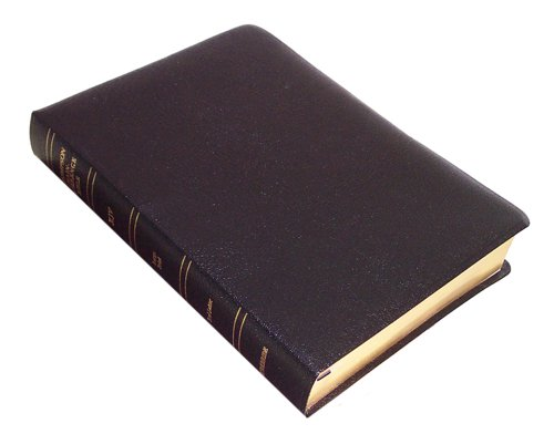 9780887073465: KJV - Black Bonded Leather - Large Print - Indexed - Thompson Chain Reference Bible (025190)