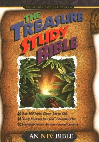 The Treasure Study Bible.: NEW INTERNATIONAL VERSION.