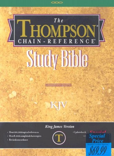 9780887073779: Thompson-Chain Reference Study Bible-KJV