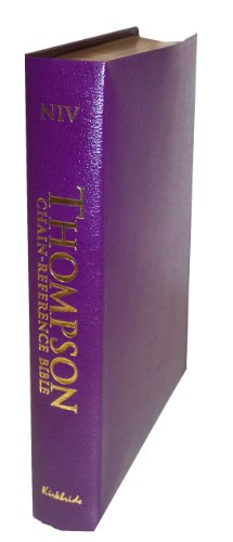 9780887073939: Thompson Chain Reference Bible (Style 809purple index) - Regular Size NIV - Bonded Leather