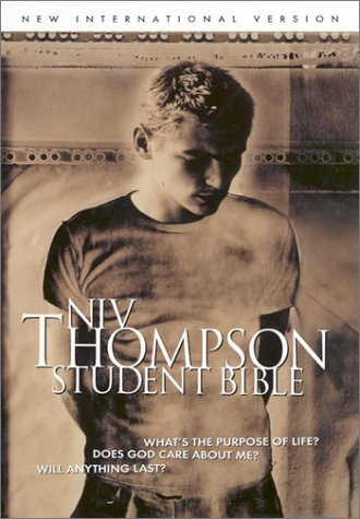 9780887074073: Thompson Student Bible-NIV