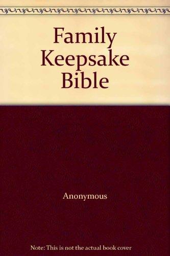 9780887074219: Family Keepsake Bible