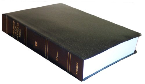 9780887074899: KJV - Black Imitation Leather - Handy Size - Thompson Chain Reference Bible (015410)
