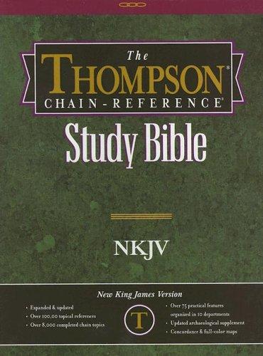 9780887075018: Thompson Chain Reference Bible-NKJV