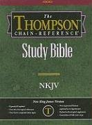 9780887075131: Thompson Chain Reference Bible (Style 310black index) - Regular Size NKJV - Genuine Leather