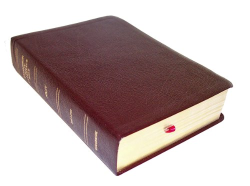 9780887075261: NKJV - Burgundy Bonded Leather - Regular Size - Indexed - Thompson Chain Reference Bible (023093)