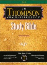 Thompson-Chain Reference Study Bible-KJV: Thompson Frank C