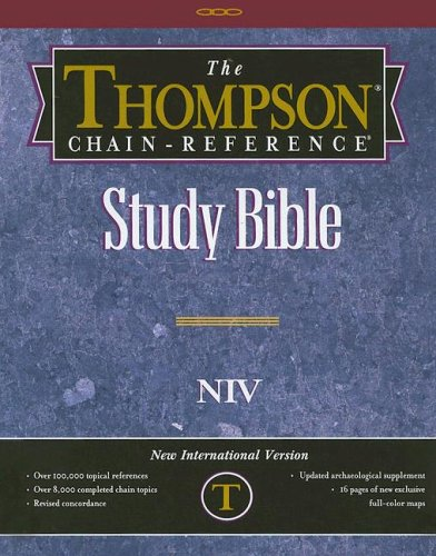 9780887075421: Thompson Chain-Reference Study Bible-NIV (Ivory, Deluxe Kirvella)