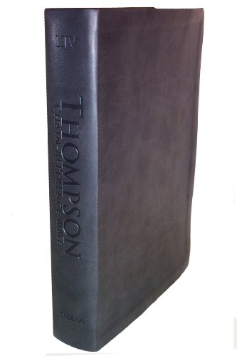 9780887075537: Thompson Chain Reference Bible (Style 807black) - Regular Size NIV - Deluxe Kirvella