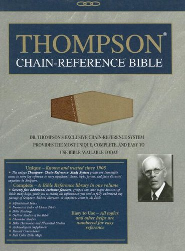 9780887075711: Thompson Chain-Reference Bible-NIV