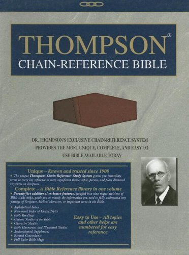 9780887075735: Thompson Chain-Reference Bible-NIV