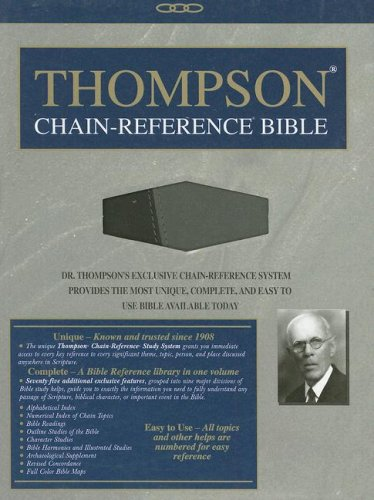 9780887075759: Thompson Chain Reference Bible-NIV