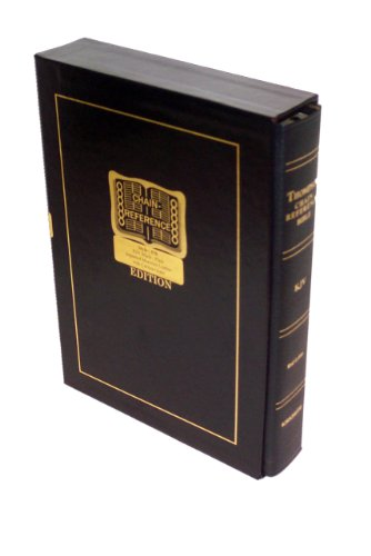 9780887076015: Thompson Chain Reference Bible (Style 570black index) - Regular Size KJV - Morocco Leather