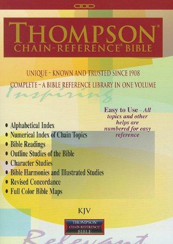Thompson Chain Reference Bible (Style 521) - Regular Size KJV - Paperback: Frank Charles Thompson