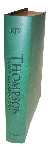 9780887076107: Thompson Chain Reference Bible (Style 507hunter) - Regular Size KJV - Deluxe Kirvella