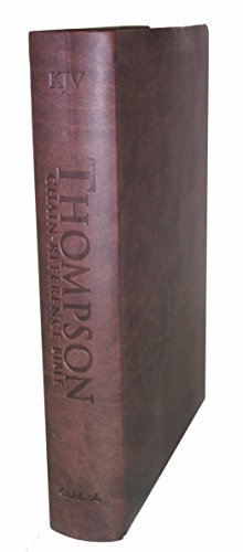 9780887076145: Thompson Chain Reference Bible (Style 507brown) - Regular Size KJV - Deluxe Kirvella