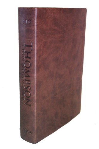 9780887076176: Thompson Chain Reference Bible (Style 807brown index) - Regular Size NIV - Deluxe Kirvella