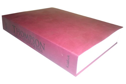 9780887076299: Thompson Chain Reference Bible (Style 528cranberry) - Regular Size KJV - Synthetic Paperback