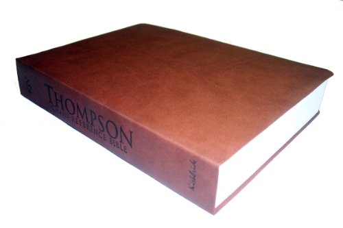 9780887076312: Thompson Chain Reference Bible (Style 528medium brown) - Regular Size KJV - Synthetic Paperback