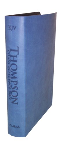 9780887076404: Thompson Chain Reference Bible (Style 507blue) - Regular Size KJV - Deluxe Kirvella