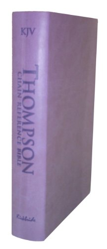 9780887076435: Thompson Chain Reference Bible (Style 507lavender index) - Regular Size KJV - Deluxe Kirvella
