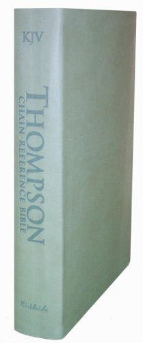 9780887076442: Thompson Chain Reference Bible (Style 507sage) - Regular Size KJV - Deluxe Kirvella
