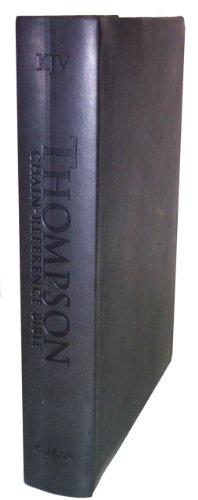 9780887076626: Thompson Chain Reference Bible (Style 537black) - Handy Size KJV - Deluxe Kirvella