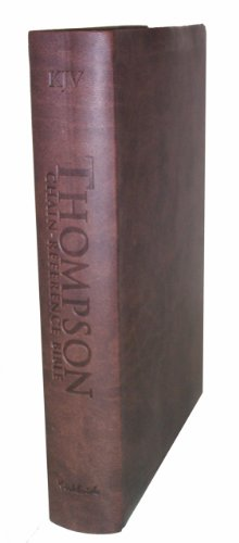 9780887076657: Thompson Chain Reference Bible (Style 537brown index) - Handy Size KJV - Deluxe Kirvella