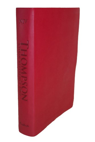9780887076725: Thompson Chain Reference Bible (Style 807red) - Regular Size NIV - Deluxe Kirvella