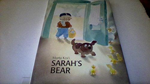 9780887080388: Sarah's Bear