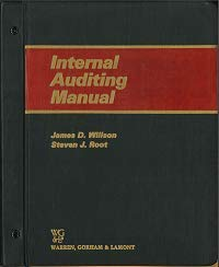 9780887121906: Internal Auditing Manual