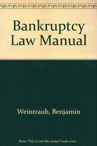 9780887123818: Bankruptcy Law Manual
