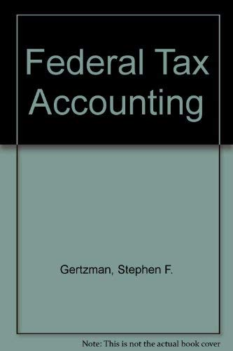 9780887129629: Federal Tax Accounting