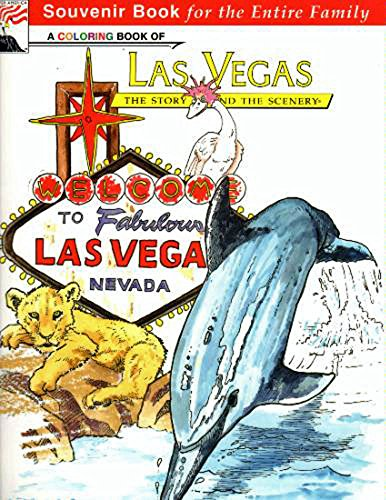 9780887142338: A Coloring Book of Las Vegas: Story Behind the Scenery (Kc Publications)