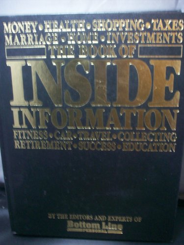 9780887230448: The Book of Inside Information