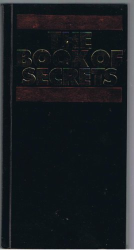 9780887230592: The Book of Secrets