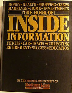 9780887230745: The Book of Inside Information