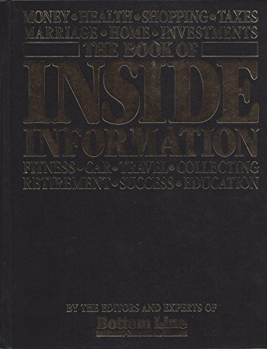 9780887230950: The Book of Inside Information