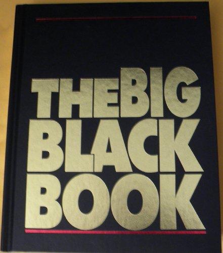 9780887235269: The Big Black Book