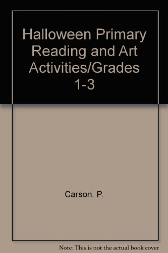 9780887240362: Halloween Primary Reading and Art Activities/Grades 1-3
