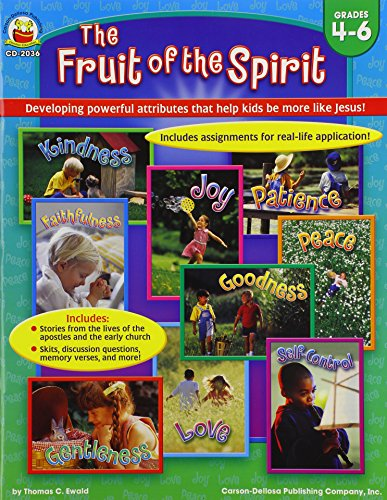 9780887241406: The Fruit of the Spirit, Grades 4 - 6: Developing powerful attributes that help kids be more like Jesus!
