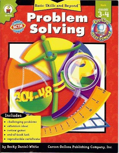 9780887241796: Problem Solving: Grade Level 3-4 (Basic Skills & Beyond)