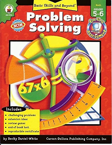 9780887241819: Problem Solving: Grade Level 4-6 (Basic Skills & Beyond)
