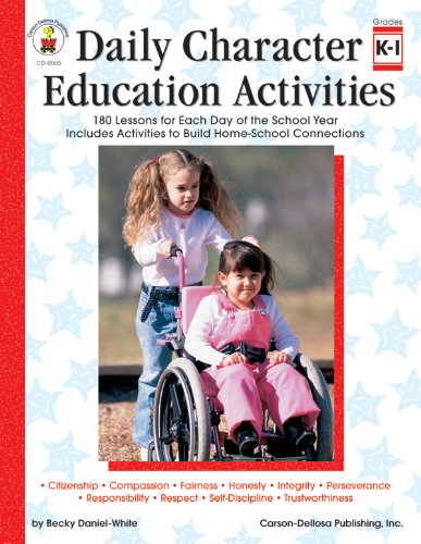 9780887242052: Daily Character Education Activities, Grades K - 1: 180 Lessons for Each Day of the School Year