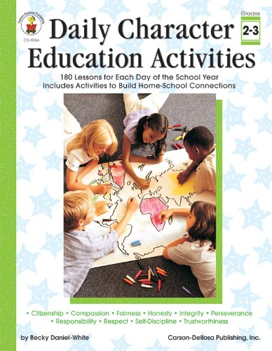 9780887242069: Daily Character Education Activities, Grades 2 - 3: 180 Lessons for Each Day of the School Year