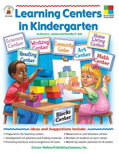 9780887242113: Learning Centers In Kindergarten: Grade Level-kindergarden