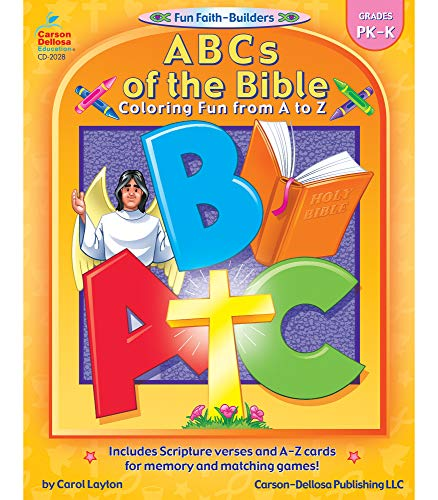 9780887242144: ABCs of the Bible, Grades PK - K: Coloring Fun from A to Z (Fun Faith-Builders)